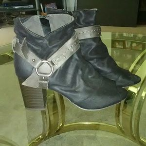 Womens Shoes Open Toe Booties